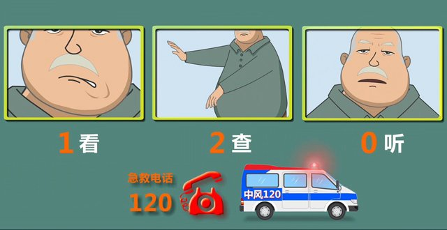 寒冬中风高发 | 当你发现身边人有这3个症状之一,快打120!