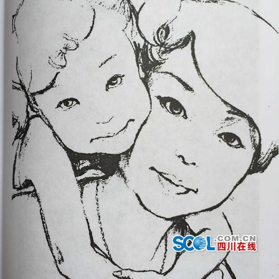 """妈妈50多封手绘信让思念""""走心"""":身虽远 心相近"""
