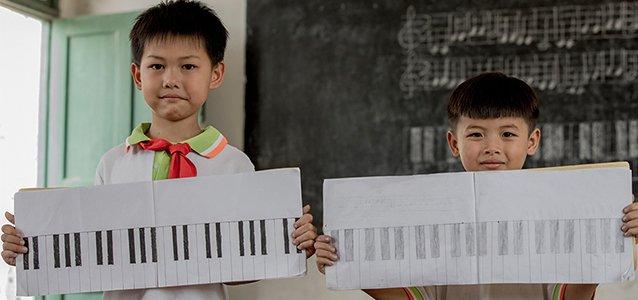 美好学校伴音乐同行