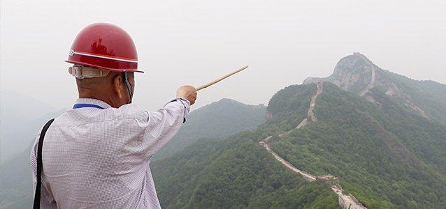 """""""中国最危险的长城""""长啥样?修了15年长城的63岁老头儿告诉你"""