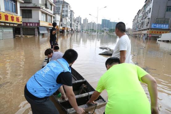 2017年长江1号洪水形成 湖南省灾情严重