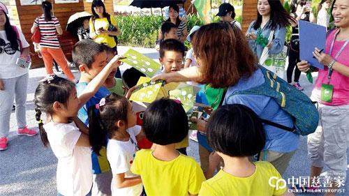 孙莉莉:我想成为全职公益人,不只是企业家中的慈善家