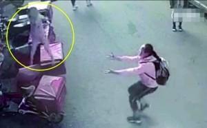 12岁女生勇接坠楼男童 学校:见义勇为但也要见义巧为