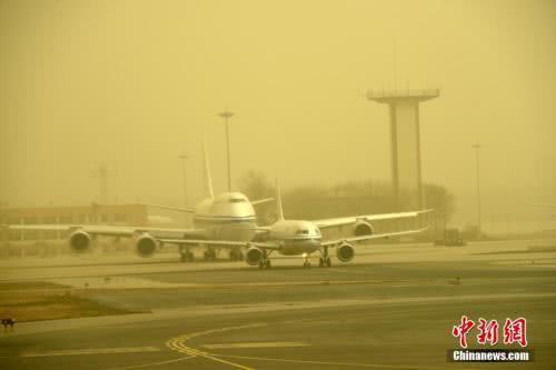 沙尘影响北方10余省份 中东部再迎降温