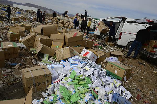 """过期药品难回收:一些医院开药时""""大处方"""",易造成药品浪费"""