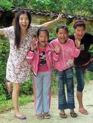 李�D与孩子们