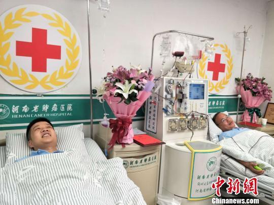 河南三志愿者同日捐献造血干细胞:能救人,很骄傲