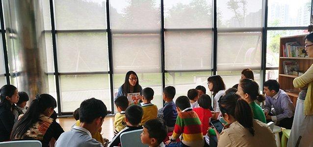 """三门姑娘从香港回故乡,建公益图书馆改变一座城width=""""638"""""""