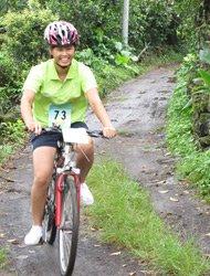 在博学生态村,骑自行车最快乐。