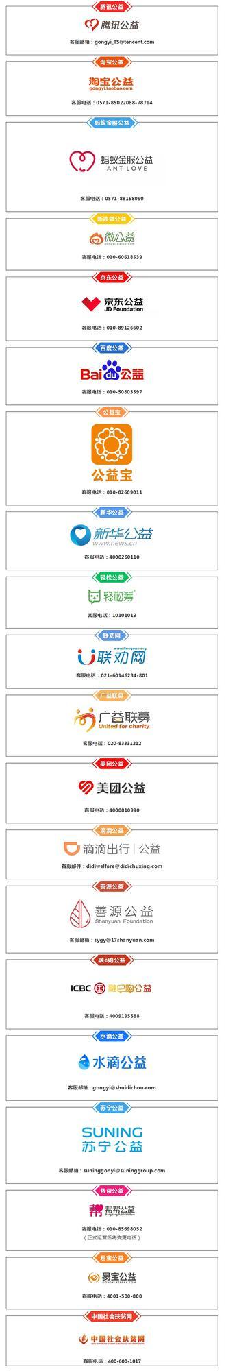 20家平台将为慈善组织提供募捐信息发布服务