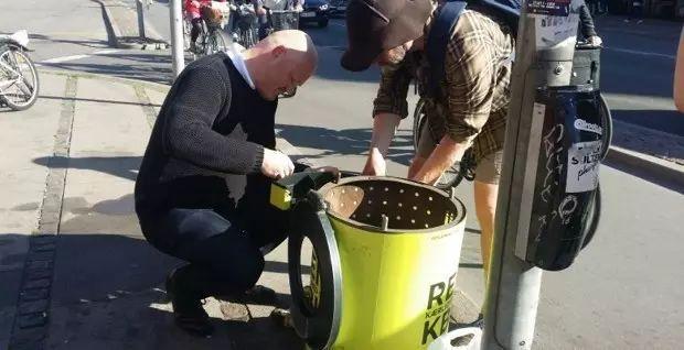 """你知道丹麦街头为何那么多""""身材矮小""""的垃圾桶吗?"""