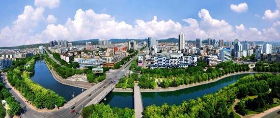 广安主城区要让市民500米见绿