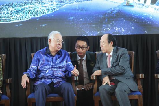 """碧桂园践行""""一带一路""""战略 获马来西亚总理三次现场点赞"""