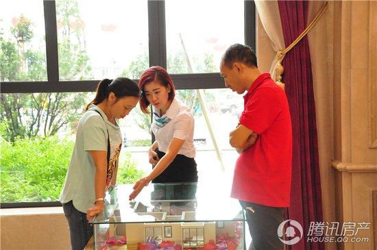 广安枣山物流商贸园区帝谷·公园城二期开工仪