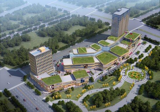 前锋国际商业中心——广安首座体验式商业体
