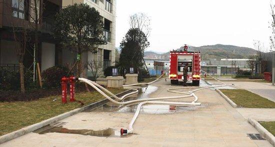 快讯!!世纪城A区完成消防验收!