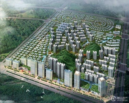 建筑风格以欧式,现代简约,中式风格为主.