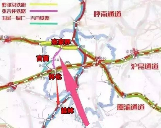 桂林有望再迎来一条重要高铁 方案途经龙胜或资源图片 49038 550x437