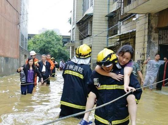 贵州省委省政府迅速组织开展防汛救灾工作