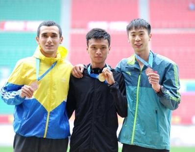 全国田径冠军赛暨大奖赛总决赛,贵州黄鹏夺冠