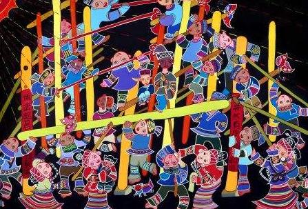 贵州农民画大赛140件作品获奖 获奖作品21日展出