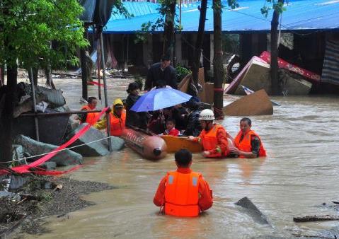 贵州省民政厅:持续强降雨已致贵州逾百万人受灾
