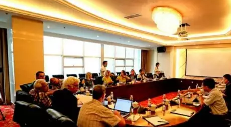 联合国教科文组织世界地质公园理事会在织金召开