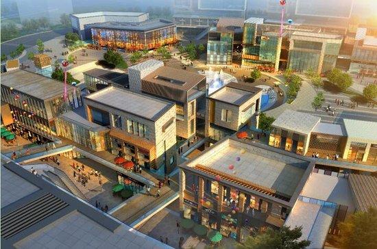 下沉式广场有提高土地利用率,解决会所经营场所,让商业开发更突出图片