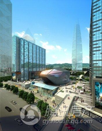 剧院暨IMAX影城落户贵阳云岩区 设计概念为大地戏台,即体现天、地