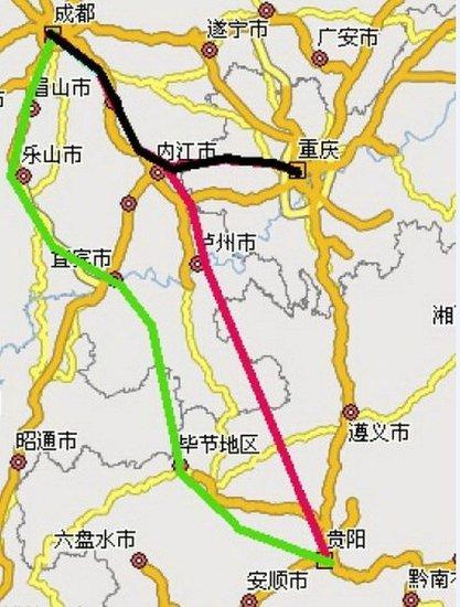 成贵高铁预计2019年底通车