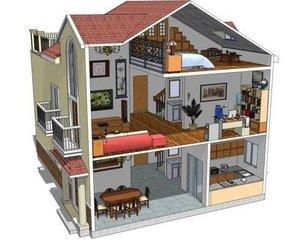 我们在买房看房时可能会听到这个楼是板式设计,或者是塔式结构图片