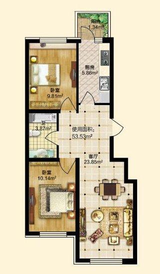 房价涨幅难预料 哈西华府买房在当下