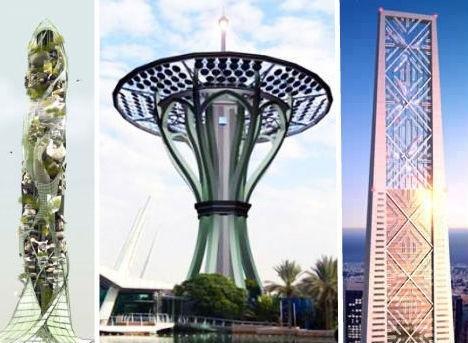 14座炫酷环保的太阳能摩天大楼