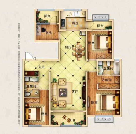 户型百变套路深 如何在哈尔滨选个宜居三房
