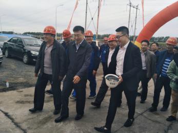 碧桂园欧洲城:哈南新区优良项目观摩工地典范