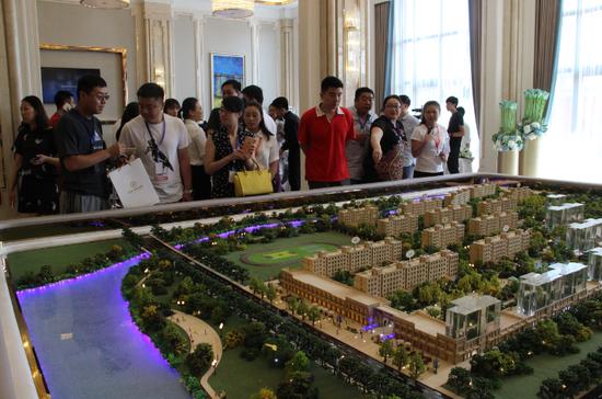 中海惹火冰城 中海紫御觀邸售樓處盛裝開放