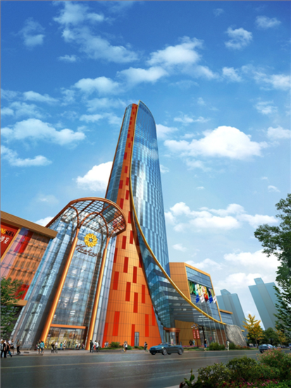 新时代新地标 华鸿晶华丽晶超五星级酒店荣耀封顶