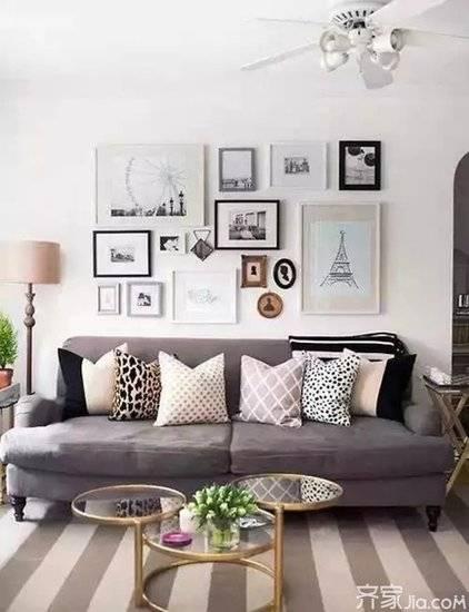 各种各样的照片墙设计 让你的家更有魅力