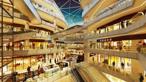 未来城市枢纽核心区域综合体 鑫都汇开启一派繁华