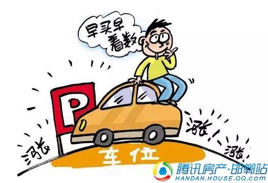 """荣盛官邸 售楼处太""""热"""",只因车位开盘太""""火"""""""