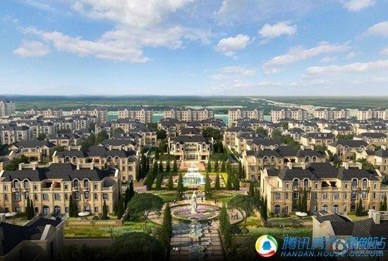 最高8500元/㎡属于邯郸城市精英的花园生态水景房