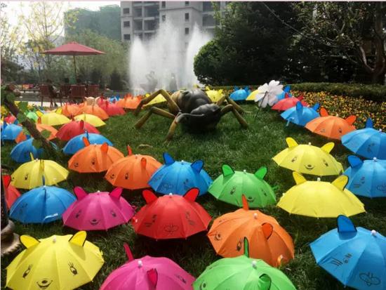 视觉盛宴,嗨翻恒大!邯郸首届纸伞艺术节激情无限!