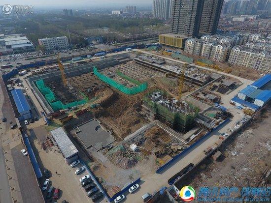 荣盛锦绣兰庭最新工地建设实景播报