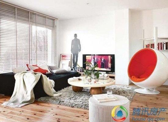 白色单身贵族 15万装修现代复式公寓