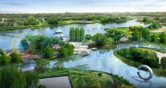 隆基泰和 未来花郡 到月爱湖畔遇见你心仪的湖居