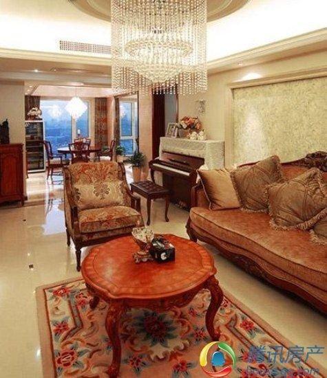 室内装饰 150平新古典三房两厅
