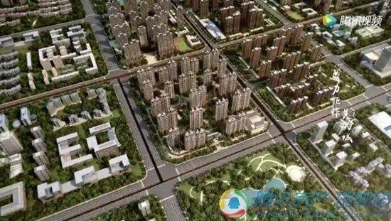 邯郸东部美的城三维宣传视频出炉,磅礴大气!