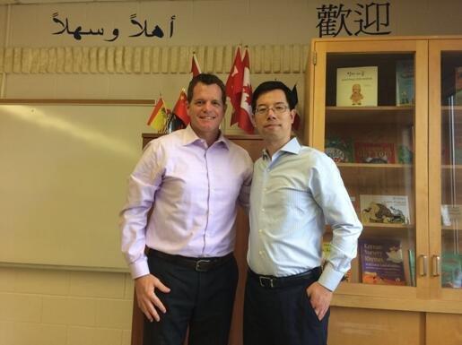 斯隆教育与贺顿地区教育局正式签约!成为加拿大官方合作伙伴