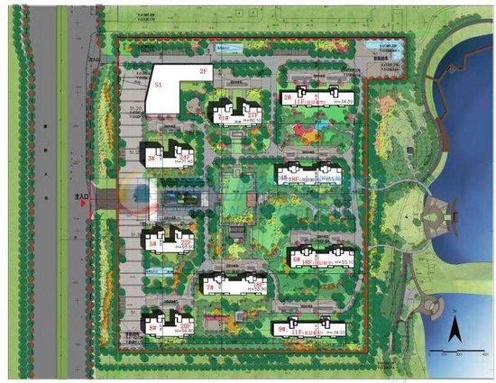 经济开发区核心 高富氧离子健康湖居洋房未来花郡