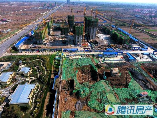 入冬了,围观邯郸东部楼盘的工程进度!